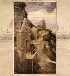 alan lee_the mabinogion_branwen - daughter of llyr_03